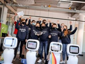 leerlingen Inspirocollege STEM workshop